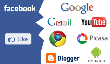 יחסי הכוחות בין גוגל לפייסבוק