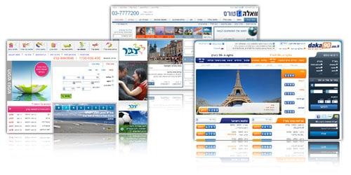 בניית אתרים באינטרנט לחברות תיירות