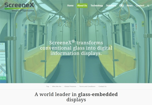 ScreenX טכנולוגיות