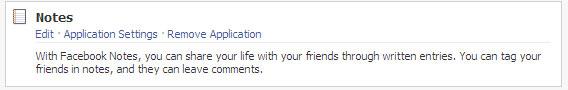 NOTES - פתקים בפייסבוק