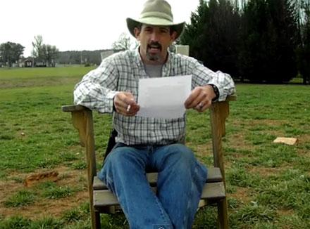 האב מקריא את המכתב של בתו
