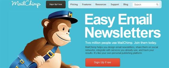 chimp mail