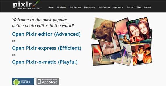 פיקסלר - עריכת תמונות אונליין