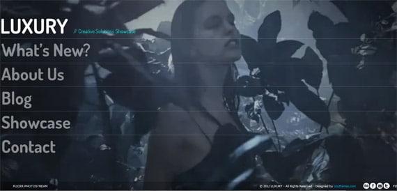 תבנית וורדפרס עם רקע וידאו